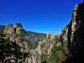 """被称为韩国张家界的""""东海武陵溪谷""""奇特景色"""