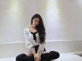 LOVELYZ成员李美珠近照公开黑色高筒袜美腿大秀性感诱惑魅力
